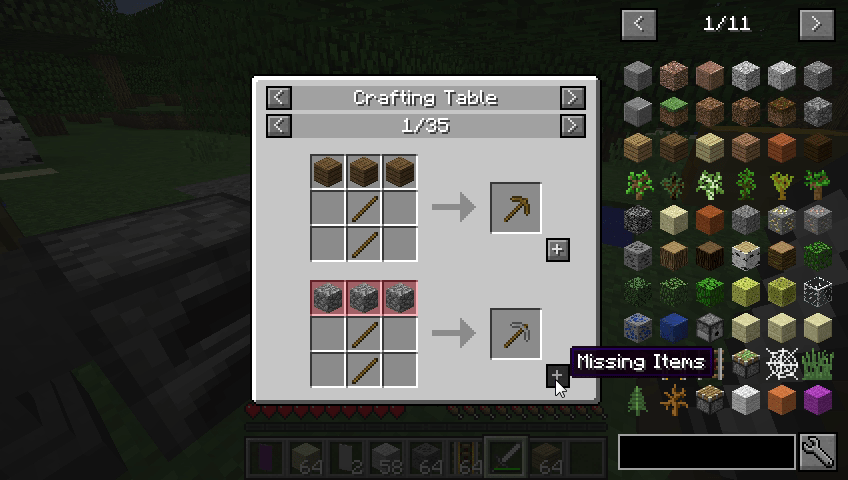 Just Enough Items Mod 2